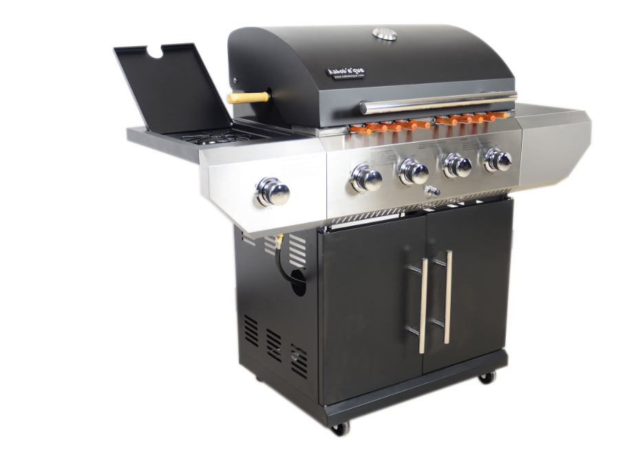 Gas Rotisserie kabob grill